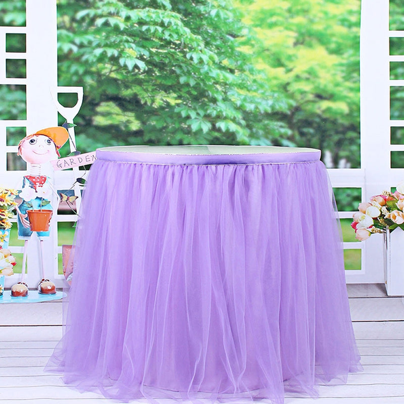 Wedding Overall Desk Mesh Gauze Dress Party Decoration