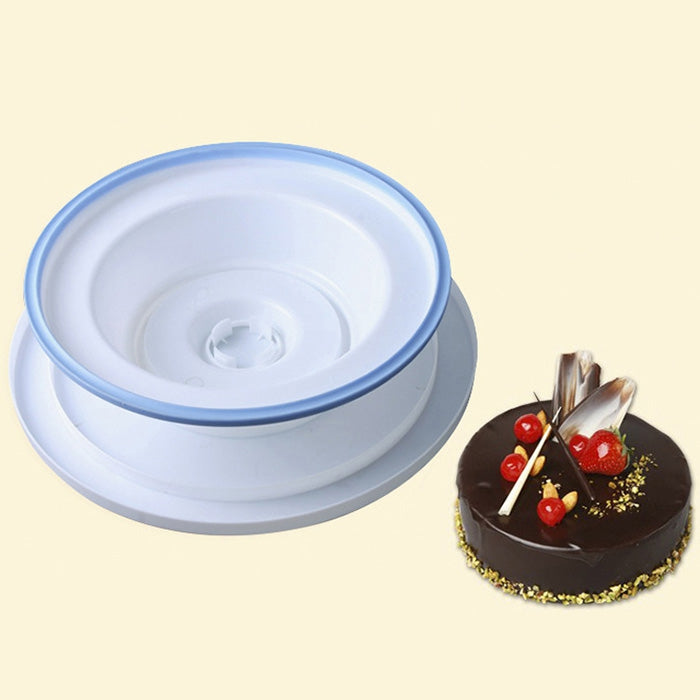 Baking Tool with Non-slip Side Cake Turntable