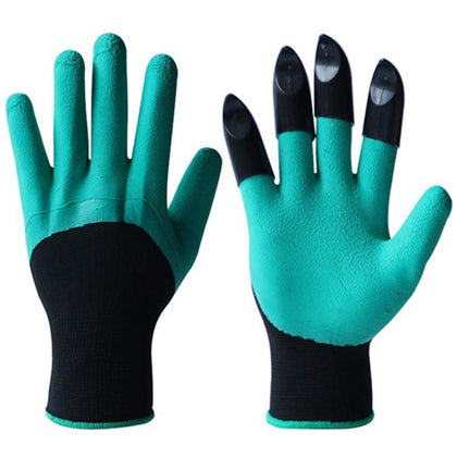 Gardening Digging Soil Claw Family Planting Waterproof Protective Glove