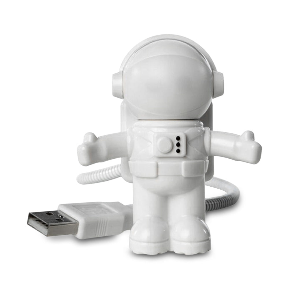 Night Light Spaceman Metal Hose USB 5V Eye Protection Lamp