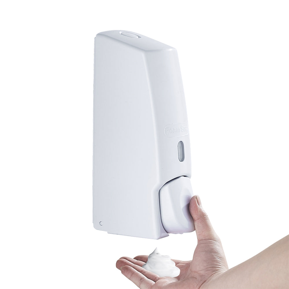 Press Type Wall Mount Foam Soap Dispenser for Home Hotel Bathroom