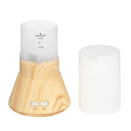 Wood Grain Air Humidifier Bluetooth Audio with Light