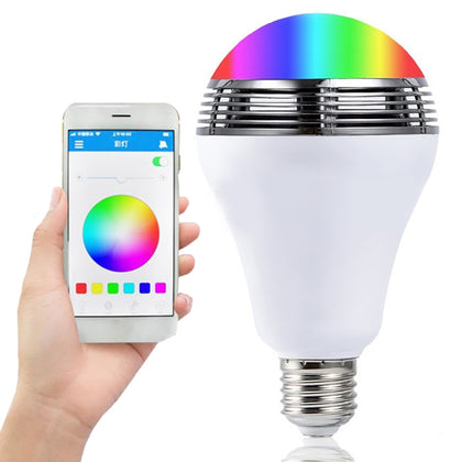 MRD - BL005A AC110 - 240V 10W APP Smart LED Music Light Bulb Simple Wireless Bluetooth Function