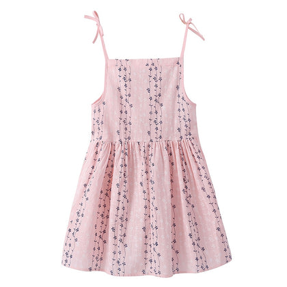 DY - YY0002 Girls Dress Spaghetti Straps