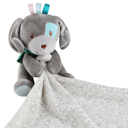 Baby Animal Comforting Saliva Towel Plush Toy for Teething Drooling Infant