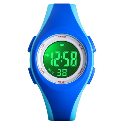 SKMEI Children's Watch Fashion Vitality Student Electronic Waterproof Luminous