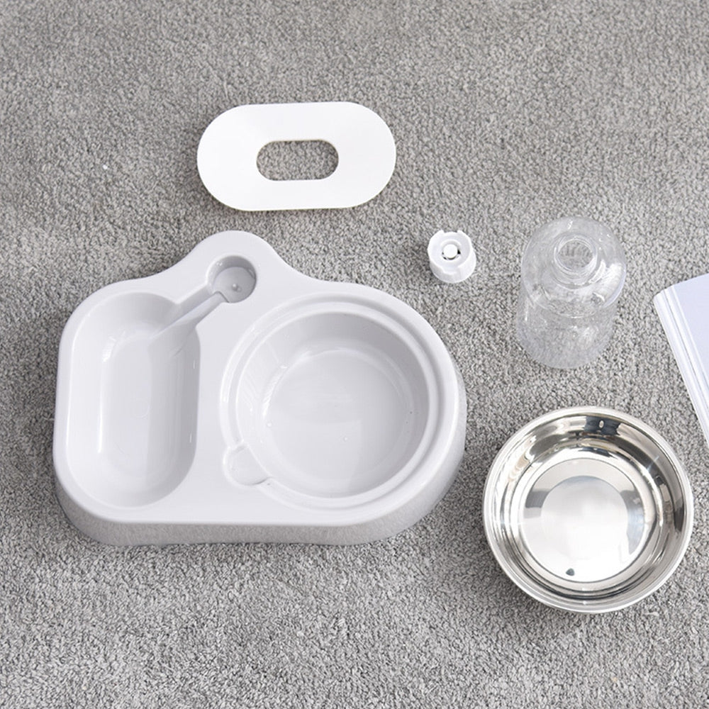 Cat Dog Automatic Drinking Bowl