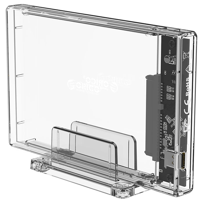 ORICO 2159C3 2.5 inch 10Gbps Hard Drive Enclosure with Holder USB3.1 Type-C Interface