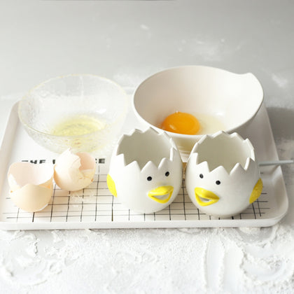 Kitchen Tool Creative Ceramic Egg White Separator