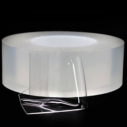 Non-marking Nano Adhesive Double-sided Tape Million Times Water-washing Durability