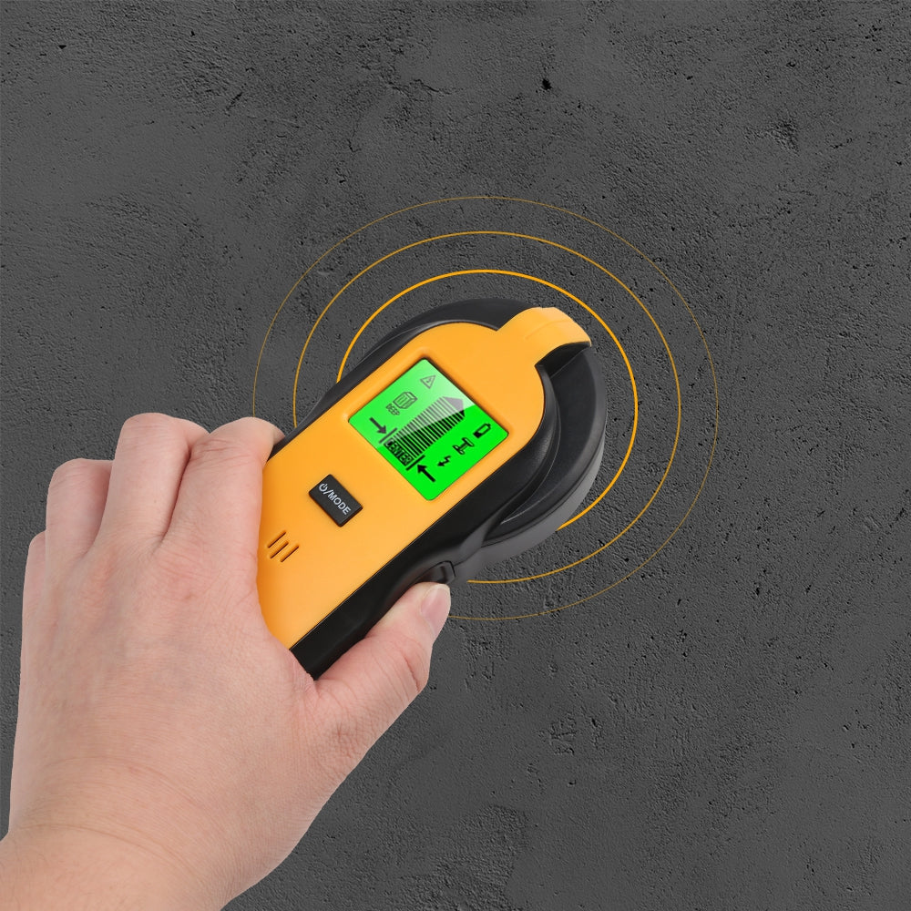 TH250 Wall Stud Center Finder Wood Metal AC Live Wire Scanner Detector