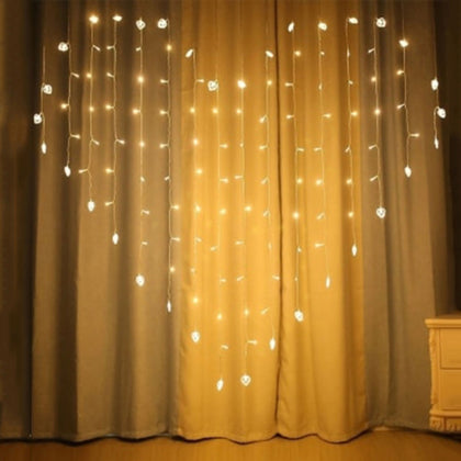 LED Lantern Heart String Light