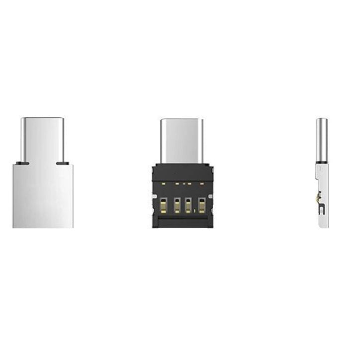 Mini Universal Android Mobile Phone Tablet Micro-USB / Type-C to USB OTG Adapter U Disk Connector