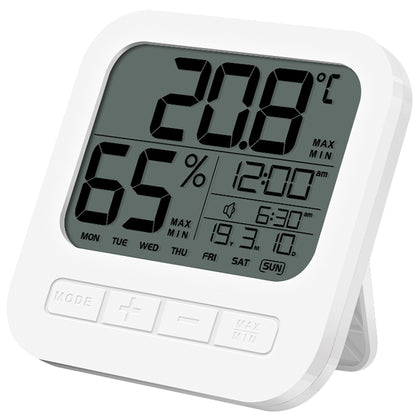 9921 Temperature Humidity Measurement Alarm Clock