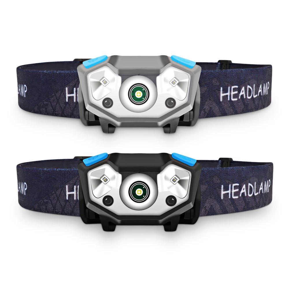 5W Outdoor Waterproof LED Night Headlamp with Waved Induction