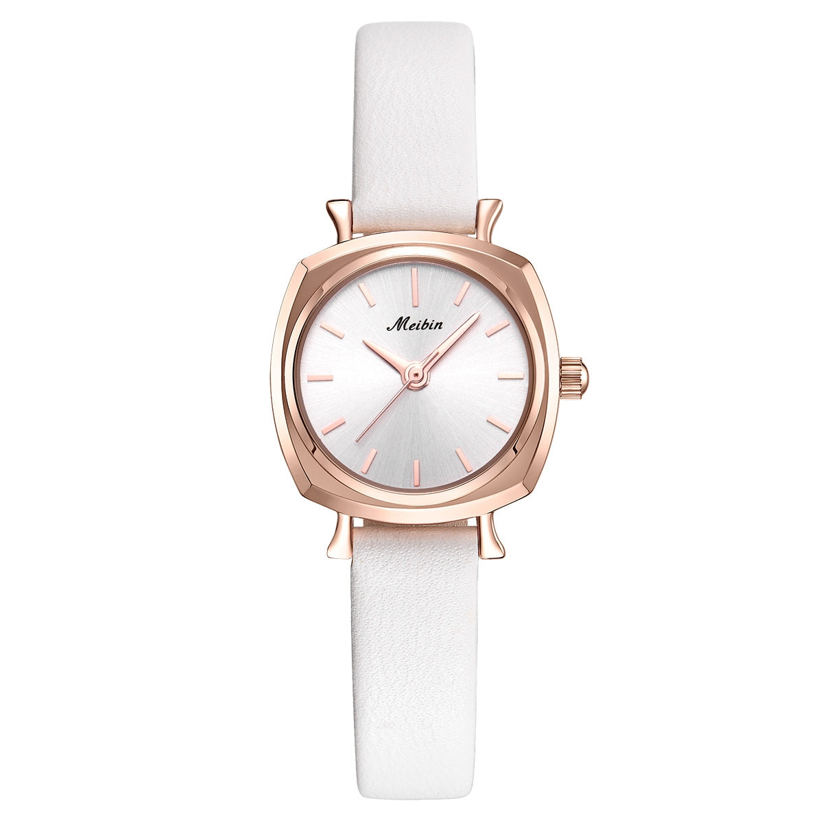MEIBIN 1128 Ladies Waterproof Watch Compact Fashion Trend Belt Simple