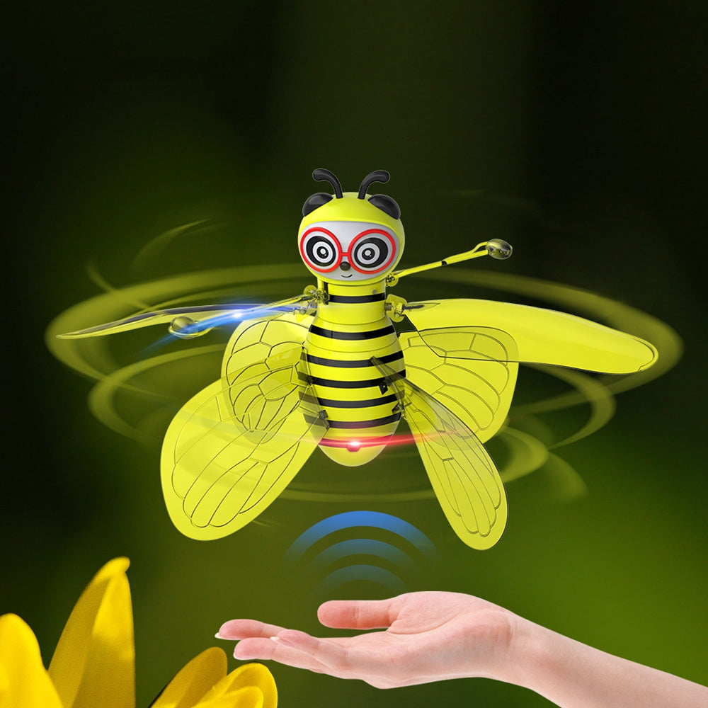 GW8201 Gesture Sensing Floating Bee Aircraft Toy Gift