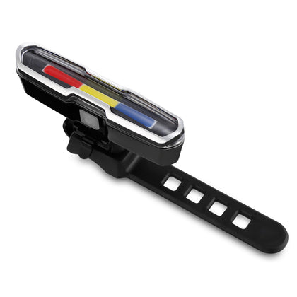 USB Rechargeable Bicycle Taillight Warning Light Indicator Mountain Bike