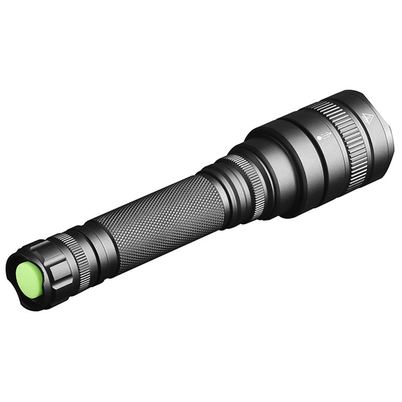 X81 Telescopic Zoom LED Adjustable Brightness P50 Glare Aluminum Alloy Flashlight