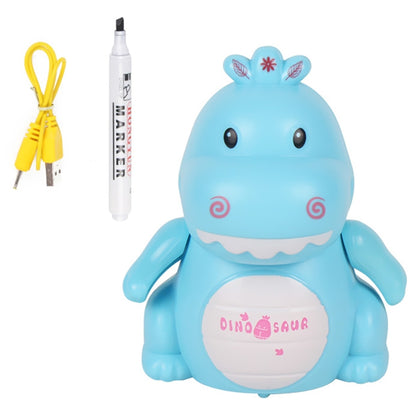 Line Drawing Automatic Sensing Small Dinosaurs with Pen USB Charging Robot Toy