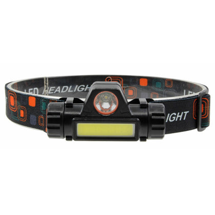 Brelong TD101 USB Rechargeable LED Magnetic Fishing Headlight Lightweight Sports Headlamp IPX6 Waterproof