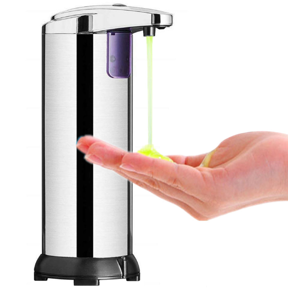 Stainless Steel Infrared Sensor Soap Dispenser