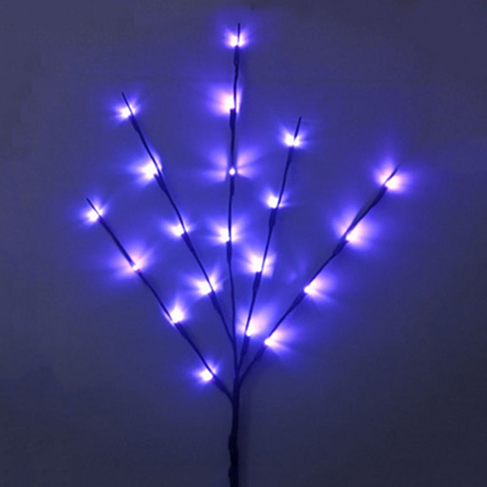 20 LED Simulation Branch Indoor Festival Decoration Light String