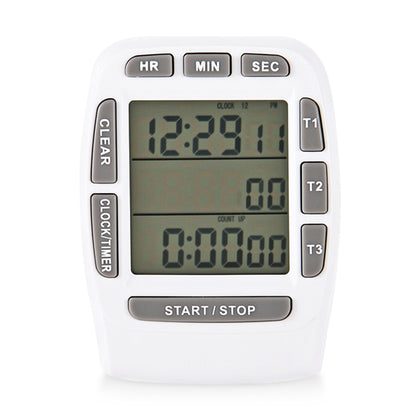 KT001 Multi-functional Kitchen Cooking Timer Electronic Countdown Stopwatch LCD Display