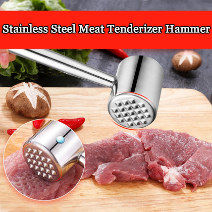 Stainless Steel Steak Pork Chops Loose Meat Tender Meat Hammer