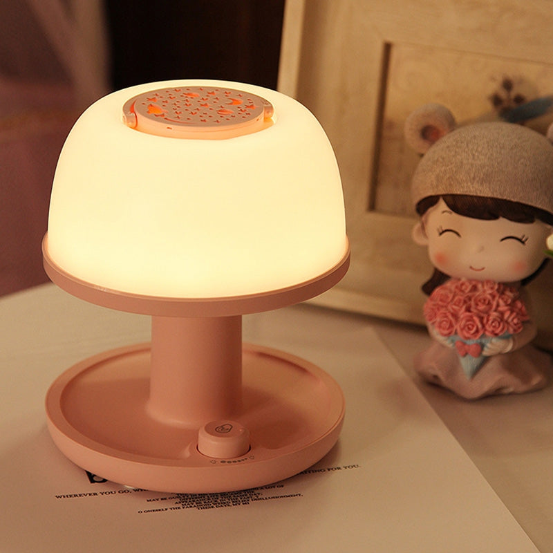 NL102 USB Charging Projection Color Changing Timing 3d Portable Night Light Table Lamp Gift