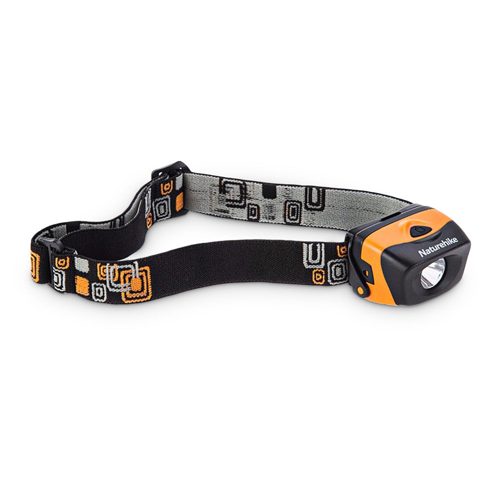 Naturehike NH00T001 - D Outdoor LED Headlamp 3 Lighting Modes IPX6 Waterproof Grade 70m Range