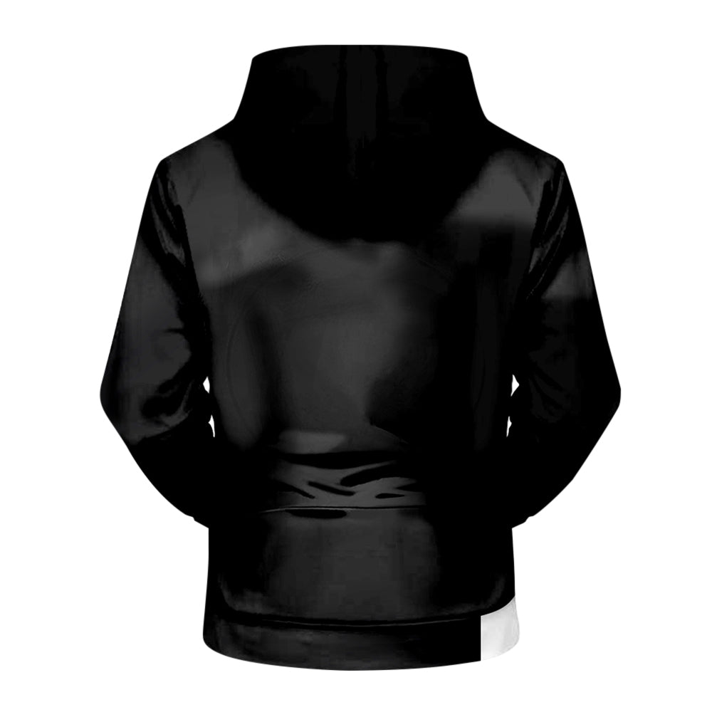 3D Muscle Print Hoodie Pullover for Men