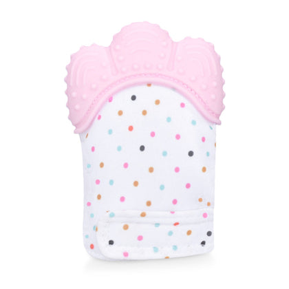 Newborn Baby Teether Silicone Molars Glove