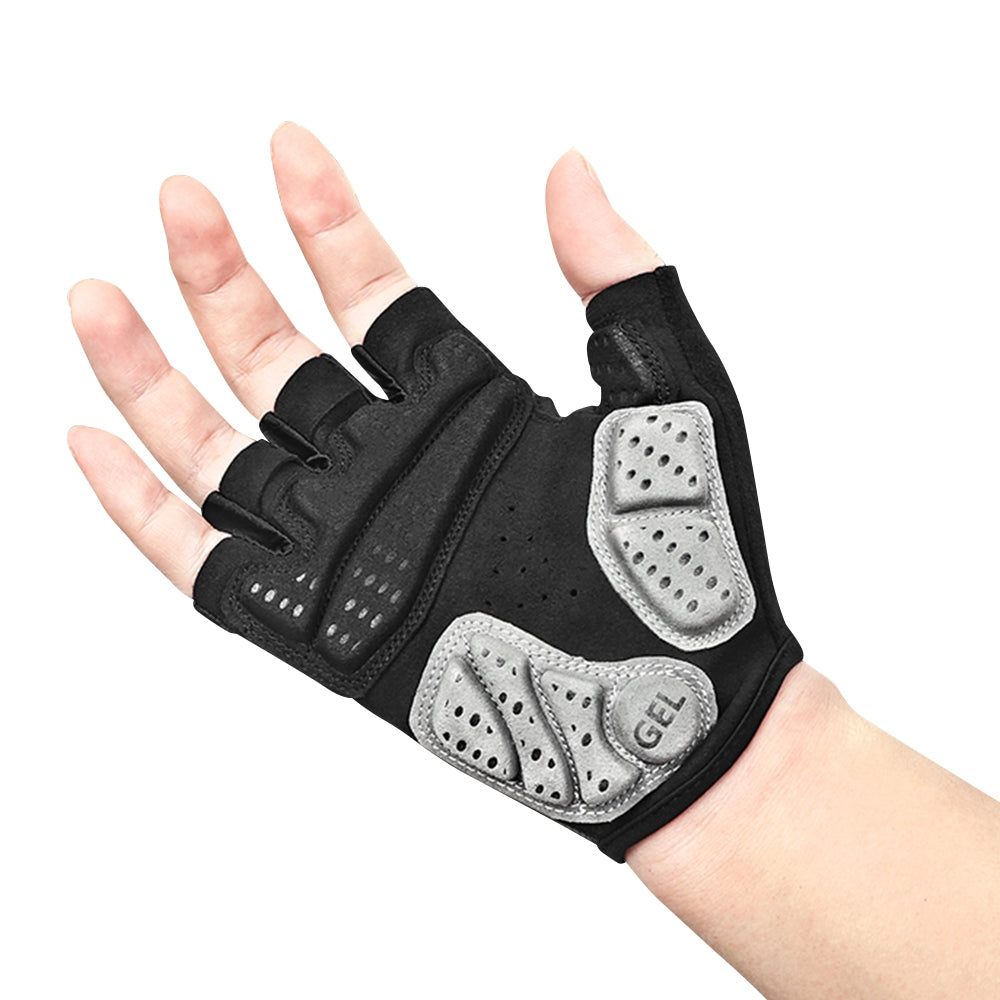 INBIKE MTB Bicycle Gloves Half-finger Breathable Anti-shock Sports for Men Women Cycling