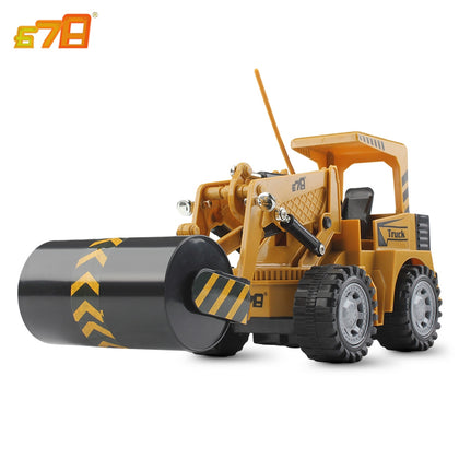 8072E 2.4G Remote Control 5-channel Simulation RC Roller Engineering Car Toy