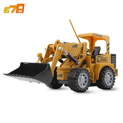 8071E 2.4G Remote Control 5-channel Simulation RC Forklift Truck Toy Gift