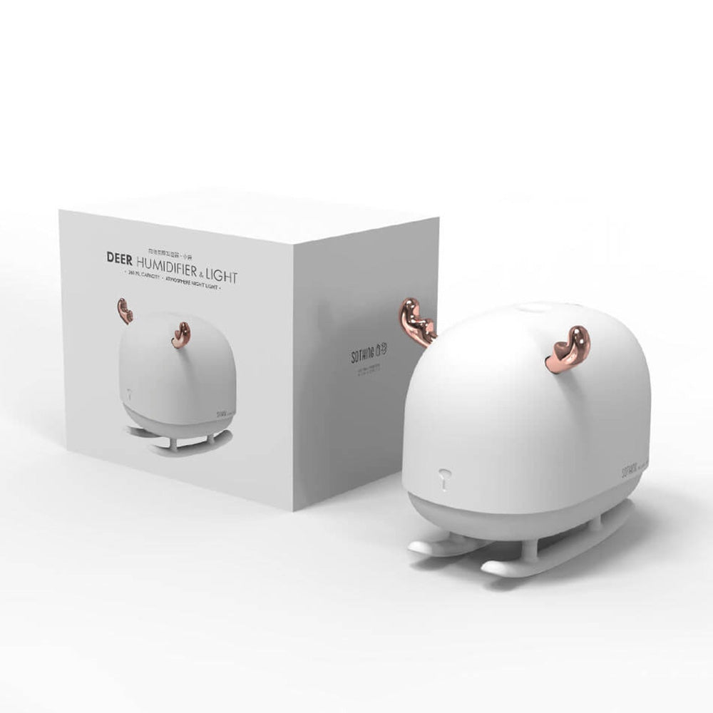 SOTHING DSHJ - H - 009 Uniform Nanometer Water Mist / Mute Experience Deer Light Ambient Humidifier from Xiaomi youpin
