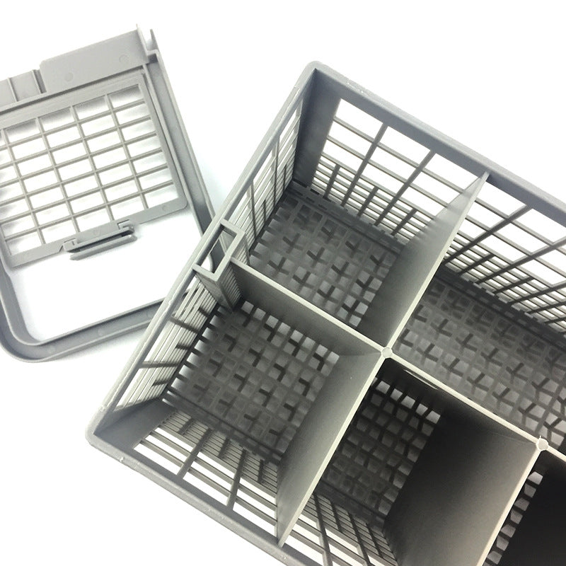 Universal Dishwasher Cutlery Basket Home Kitchen Storage Box