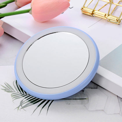 Mini Portable LED Makeup Mirror