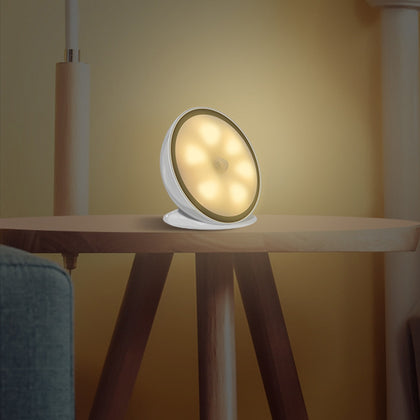 360 Degree Rotating Night Light with Human Body Induction