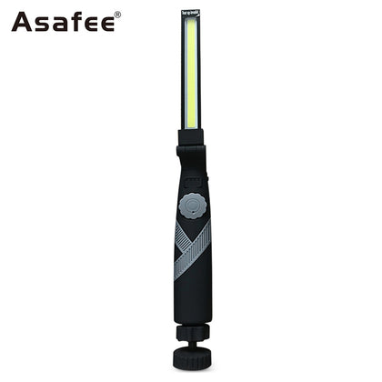 Asafee 1465B COB Working Lamp Multifunctional Strip Light with Magnet Bottom