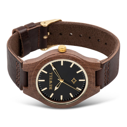 BEWELL ZS - W169A Women Quartz Watch Leather Strap