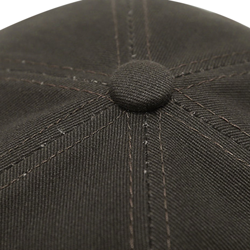 ZS070 - 1 Peaked Cap Pure Cotton Sunhat Precision Stitches Neat Line for Outdoor Use