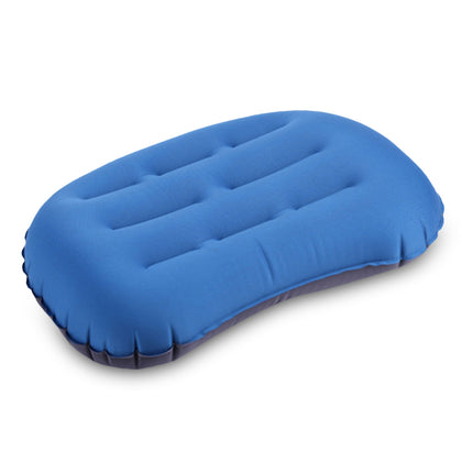 Travel Inflatable TPU Neck Pillow Press Type Office Aircraft Waist Cushion