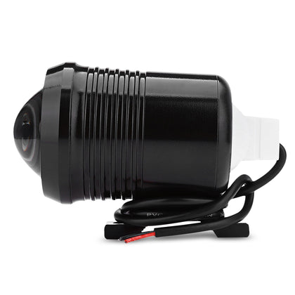 U2 1200LM 30W Upper Low Flash Motorcycle Headlight LED Spot Light Motorbike Fog Lamp