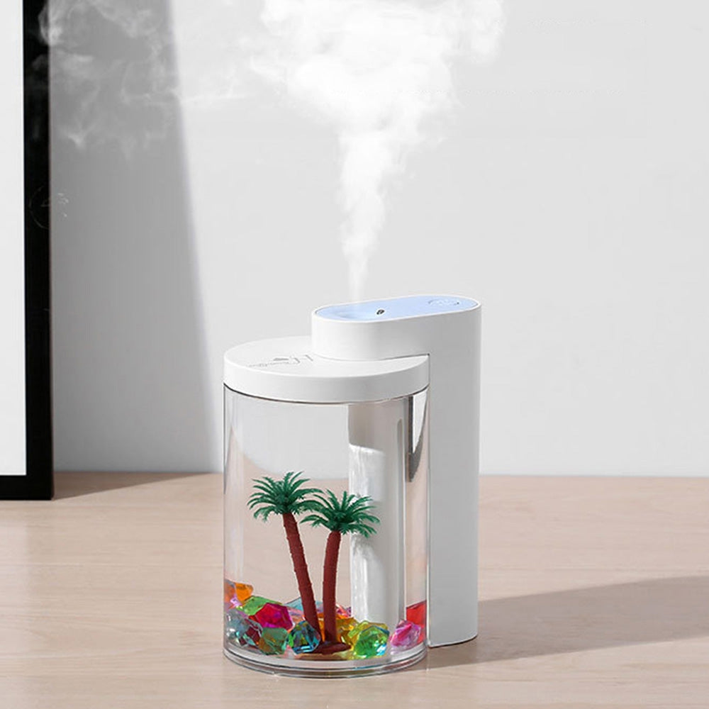 USB Charging Humidifier Household Air Atomizer Night Light for Office Desktop Car