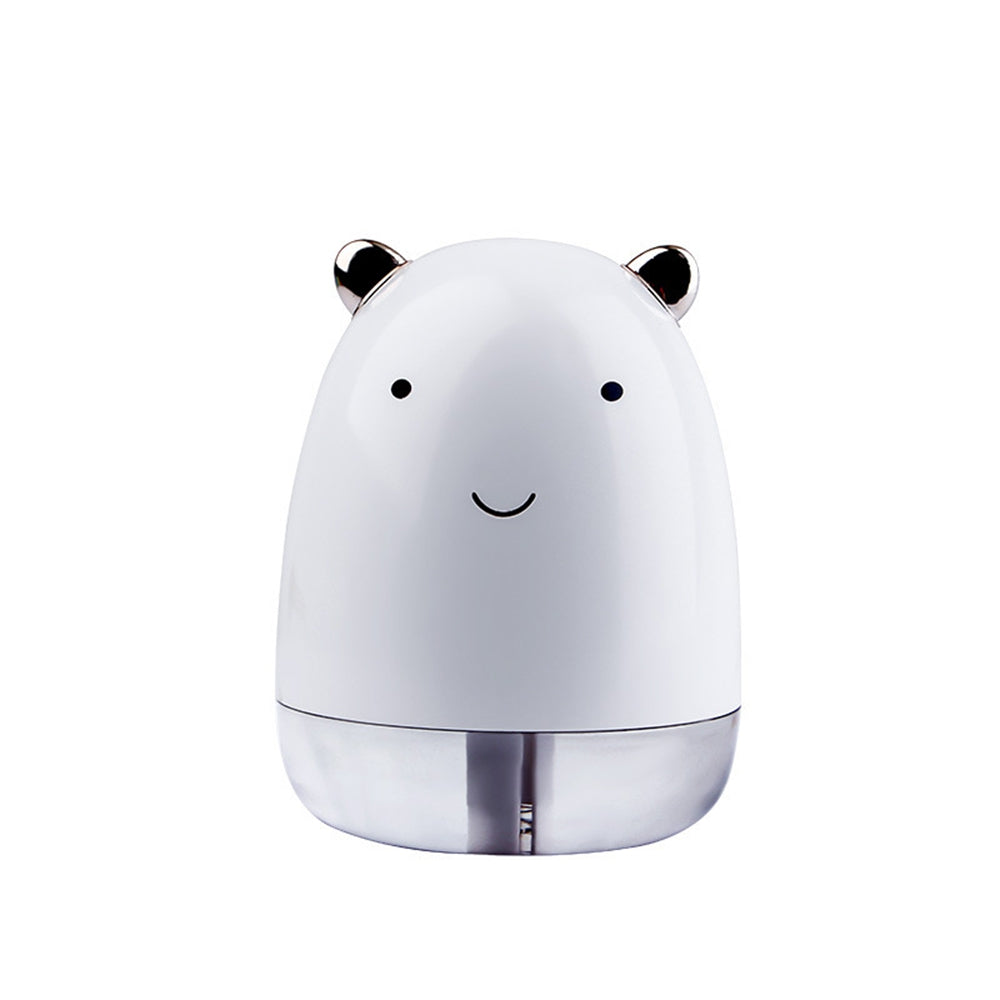 220ml Cute Bear Air Humidifier with Colorful LED Light