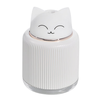 300ml Cartoon Air Humidifier with 2 Colors Mood Light