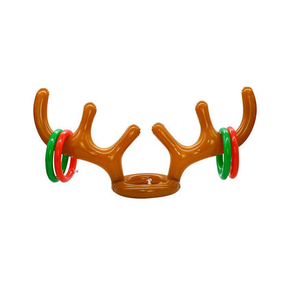 Christmas Party Accessories Inflatable Antler Hat Balloon