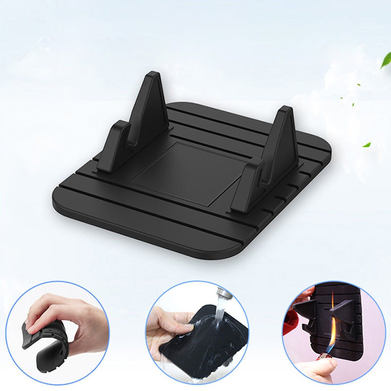 Mini Portable Car Dashboard Anti-skid Pad Silicone Phone Holder